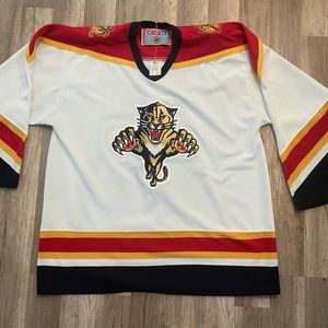 Vintage CCM NHL FL Panthers Hockey Jersey XL